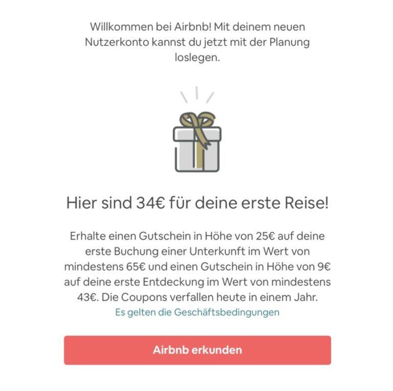 Airbnb Anmelden Fertig