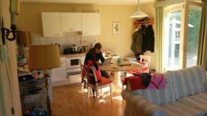 Domburg 2015 Ferienhaus Airbnb Essecke Küche