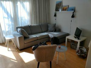 Domburg 2017 Ferienwohnung Airbnb Wohnzimmer