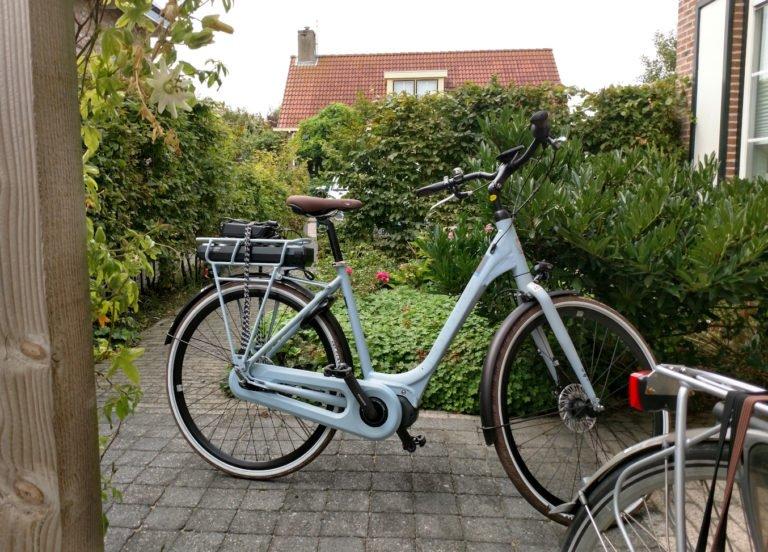 Kiras Fahrrad Pedelec in Domburg mit Trittkraftunterstützung