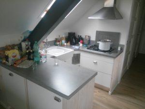 Serooskerke 2013 Ferienwohnung Airbnb Küche