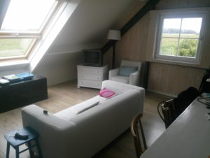 Serooskerke 2013 Ferienwohnung Airbnb Wohnzimmer