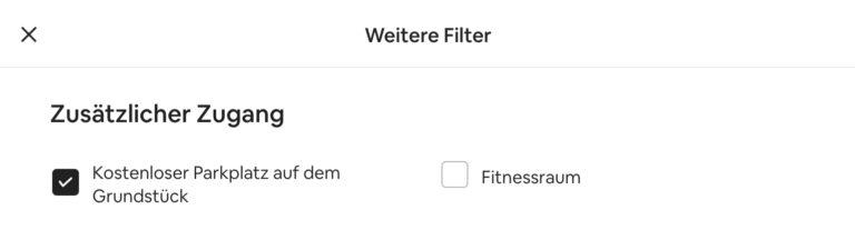 Airbnb Unterkunft suchen Domburg Filter Weitere Filter Parkplatz