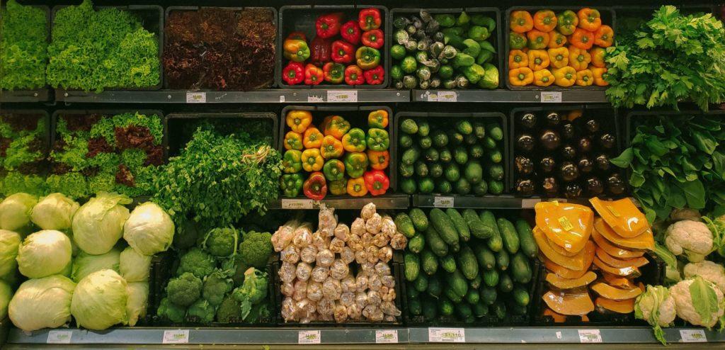 Einkaufen in Domburg im Supermarkt